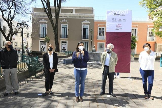 Rescata Ayuntamiento de Puebla imagen de inmuebles patrimonio