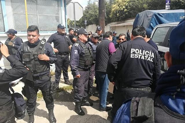 Rescatan de linchamiento a dos presuntos ladrones en Chiautzingo