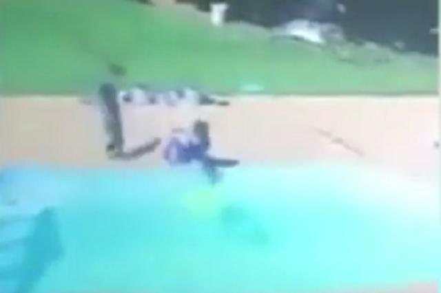 Menor de 3 años impide que su mejor amigo muera ahogado