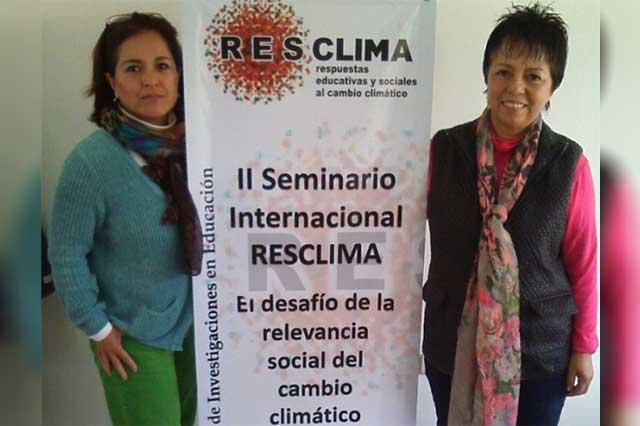 Investigadoras de la Ibero participan en Seminario RESCLIMA