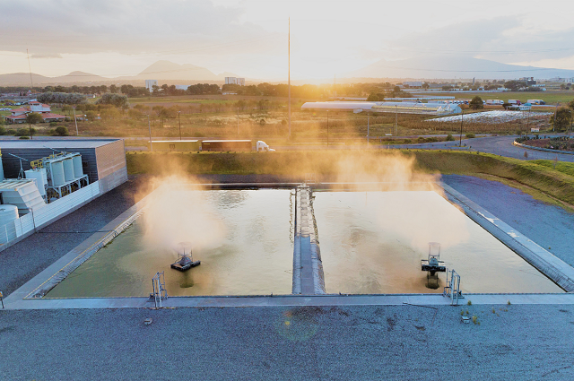 Audi México limpia 100 millones de litros de agua