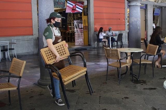 Ya podrán abrir los domingos restaurantes y centros comerciales en Puebla