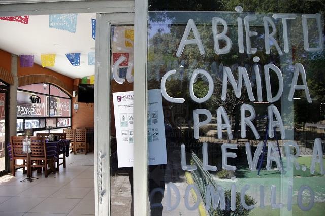 Suspende gobierno venta de comida en establecimientos fijos
