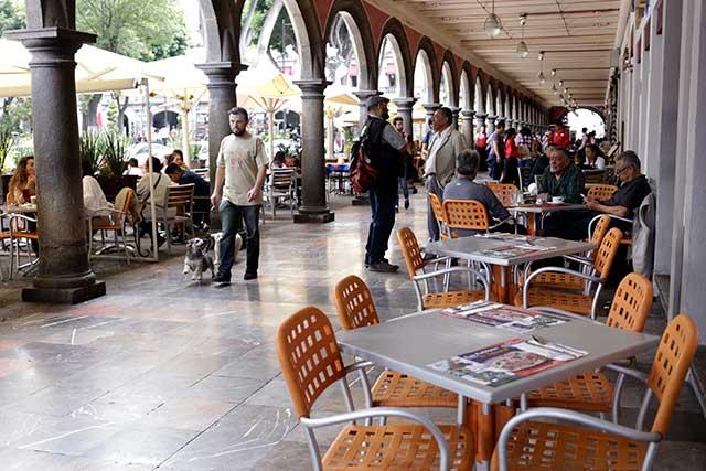 Ventas de restauranteros al piso por sismo y temor de la clientela