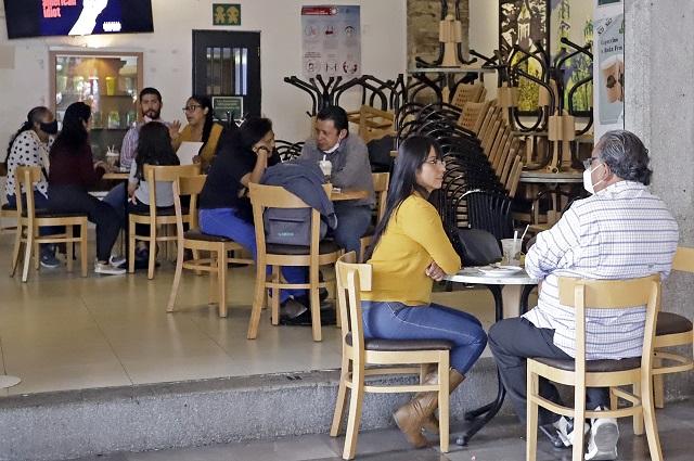 Va proyecto de terrazas pero sin más aforo en restaurantes de Puebla