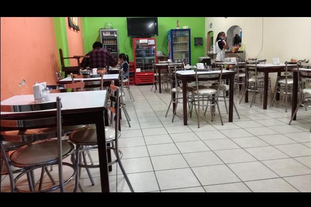 Restaurantes de Tehuacán darán servicio pese a Covid-19