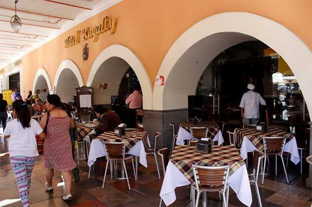Restaurantes del Centro Histórico resienten bajas ventas por sismo