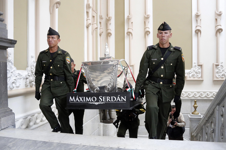 Regresan restos de los Serdán tras deterioro y restauración