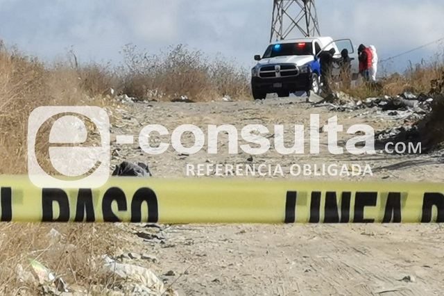 Hallan restos embolsados cerca de la SCT en Xochimehuacán