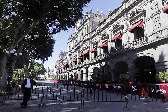 Contrajeron Covid 315 trabajadores del Ayuntamiento de Puebla