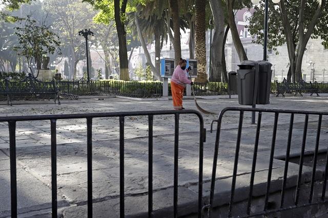 Se hace obra social en colonias populares, no en el zócalo: Barbosa