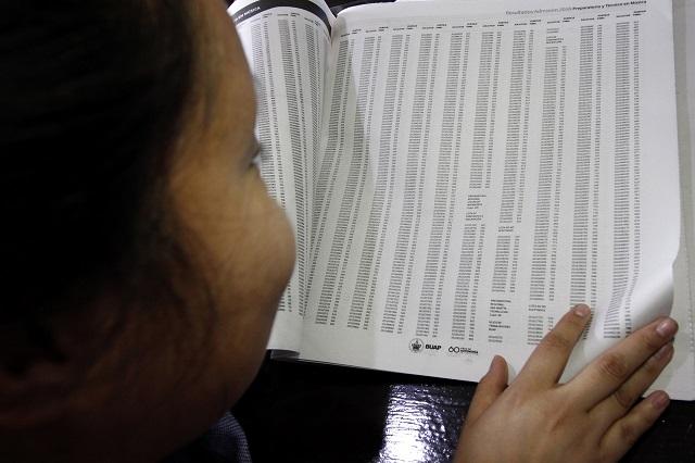 Publica BUAP lista de aceptados; Medicina fue la más demandada