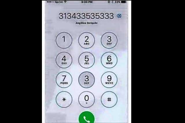 ¿Cuántos números 3 encuentras en la imagen?