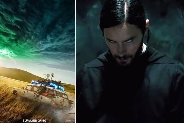 Postergan hasta 2021 'Ghostbusters' y 'Morbius' por coronavirus