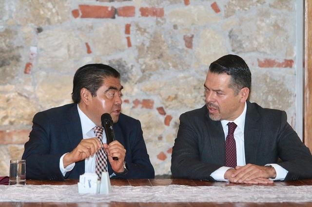 Se reúne Barbosa Huerta con integrantes del Poder Judicial
