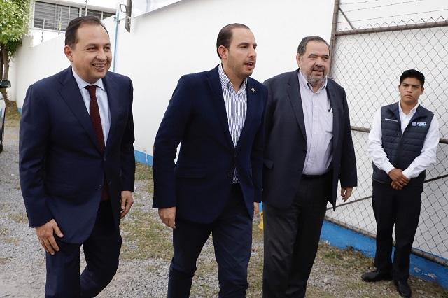 Por derecho, el gobierno interino de Puebla es para el PAN: Cortés