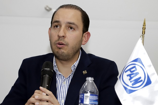 Panistas exigen renuncia del dirigente nacional Marko Cortés