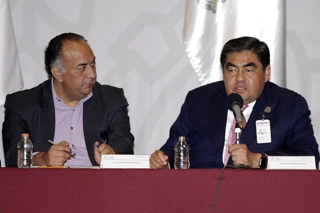 Cambios en seguridad de Puebla, Huejotzingo y Coronango: Barbosa