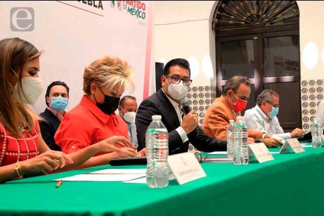 Néstor Camarillo va por dirigencia del PRI en Puebla, otra vez