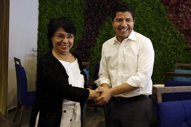 Urge un frente anti RMV, dice Quezada en reunión con Rivera Pérez