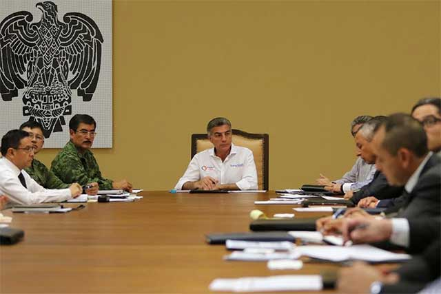 Encabeza Gali reunión con grupo de coordinación de seguridad