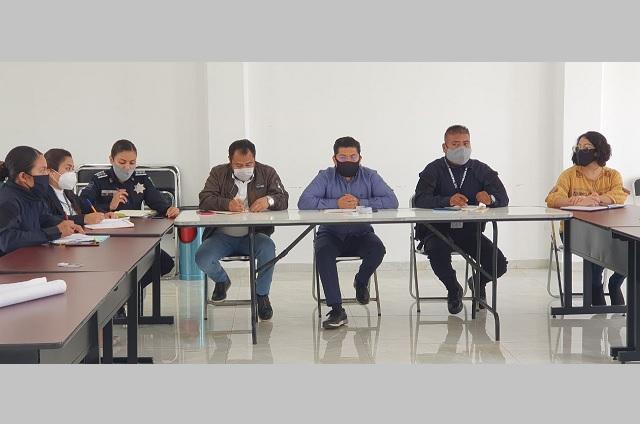 Edil de Coronango busca mejorar seguridad en Ocotlán