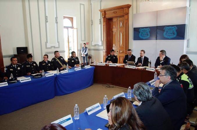 Banck encabeza reunión semanal para evaluar seguridad