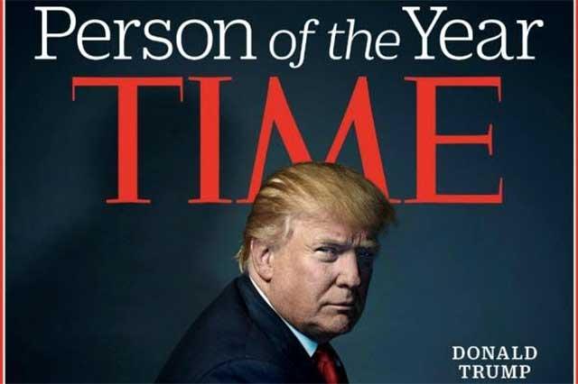 La revista Time nombra a Donald Trump la Persona del Año