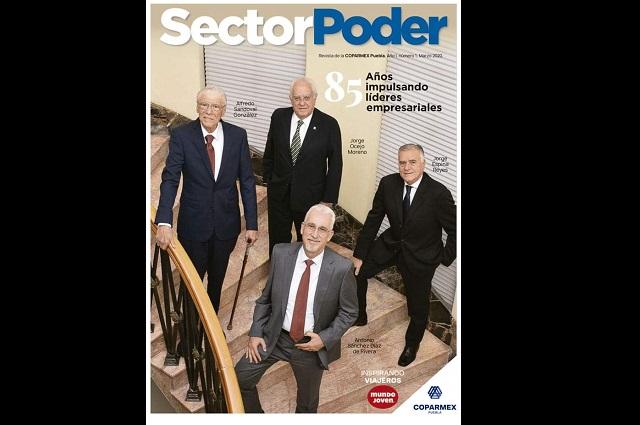 Lanza Coparmex Puebla revista y programa en Puebla