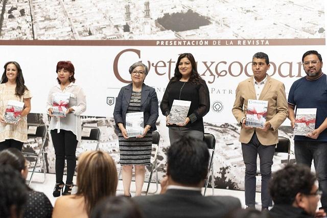 Presentan revista sobre patrimonio cultural de Puebla