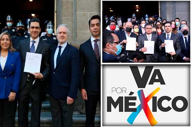 Va por México impugna ante SCJN la revocación de mandato