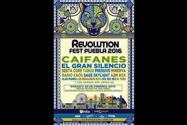 Confirman nueva alineación para el Revolution Fest
