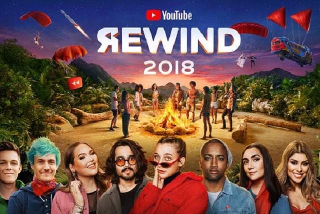 Youtube lanza su Rewind 2018