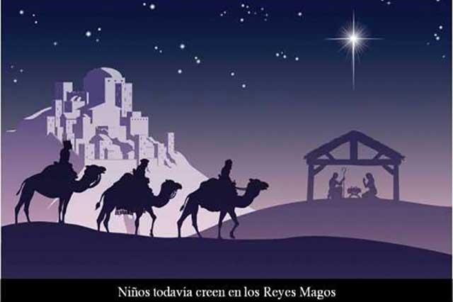 Siete de cada 10 niños mexicanos recibirán a los Reyes Magos