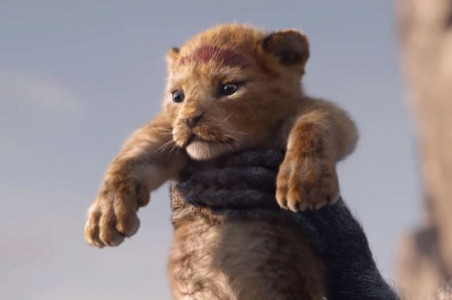 Así surgió la idea de la película del Rey León