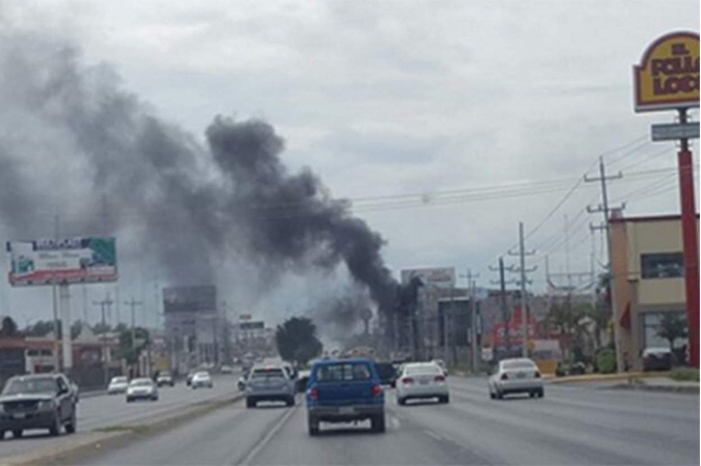 Reportan balaceras y bloqueos en 5 zonas de Reynosa, Tamaulipas
