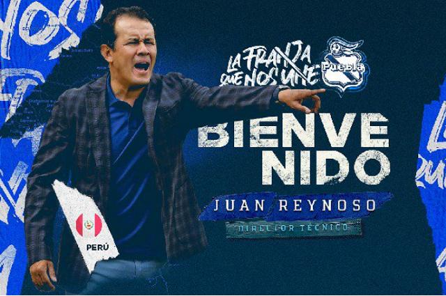 Juan Reynoso se hará cargo del timón en el Puebla