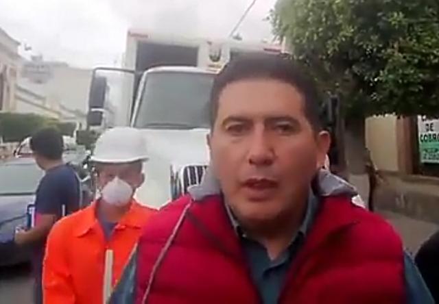 A un mes de tomar el cargo se va director de Limpia en Tehuacán
