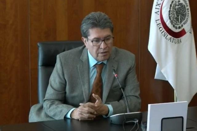 Monreal anuncia que enviará iniciativa para sacudir al Poder Judicial