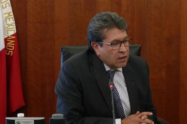 Monreal presentará iniciativa para sustituir al Consejo de la Judicatura