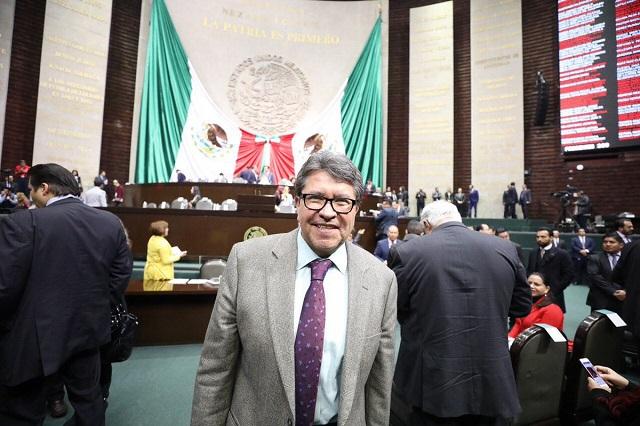 Monreal plantea que México y EU se repartan los 14 mil mdd de El Chapo