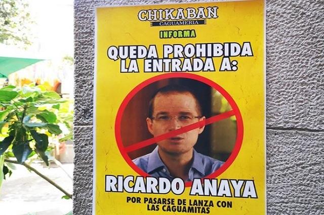 Bar de Veracruz veta a Ricardo Anaya por estar en contra de 'caguamas'