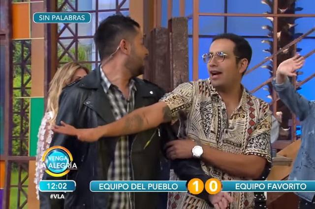 Expulsan de juego de VLA a Ricardo Casares tras agredir a Pato Borghetti