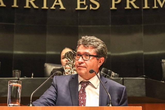 Porfirio ha contribuido a la democracia y es historia, dice Monreal
