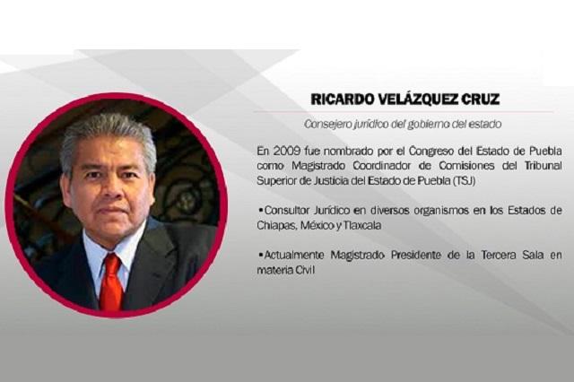 Dan licencia a Ricardo Velázquez para ir al gabinete de Barbosa