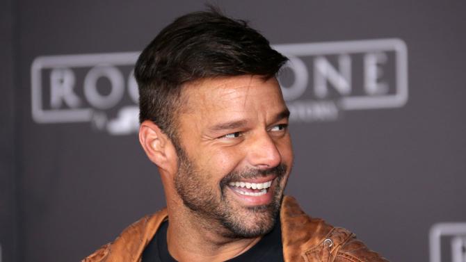 Ricky Martin celebra en familia el Año Nuevo