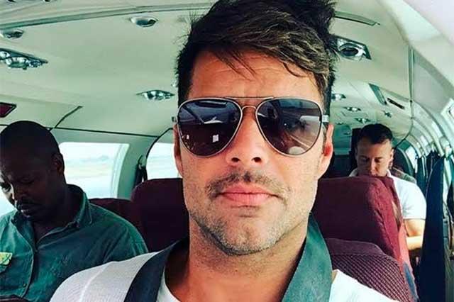Ricky Martin vacaciona con Jwan Yosef en Ibiza
