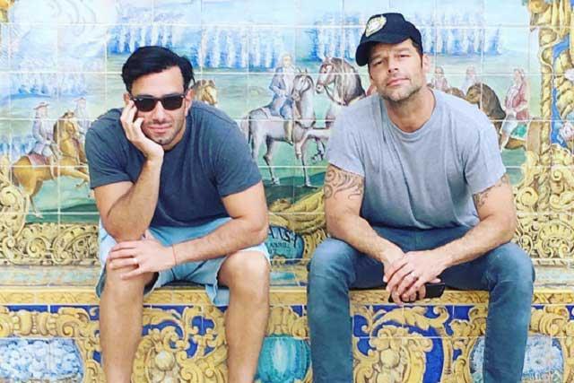 Ricky Martin y su novio Jwan Yosef se convierten en príncipes de Disney