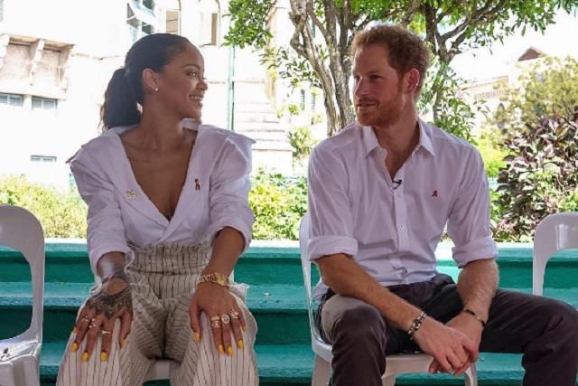 Rihanna y el príncipe Harry se realizan la prueba del VIH