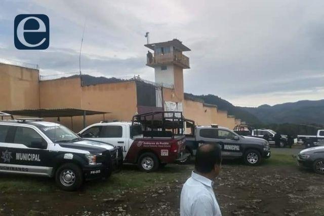 Registran riña entre internos del CERESO Huauchinango
